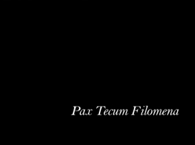 Pax Tecum Filomena, video, 2007